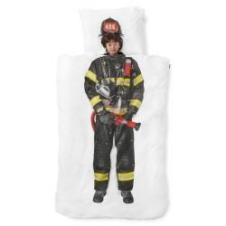 Feuerwehr Kinder-Bettwäsche